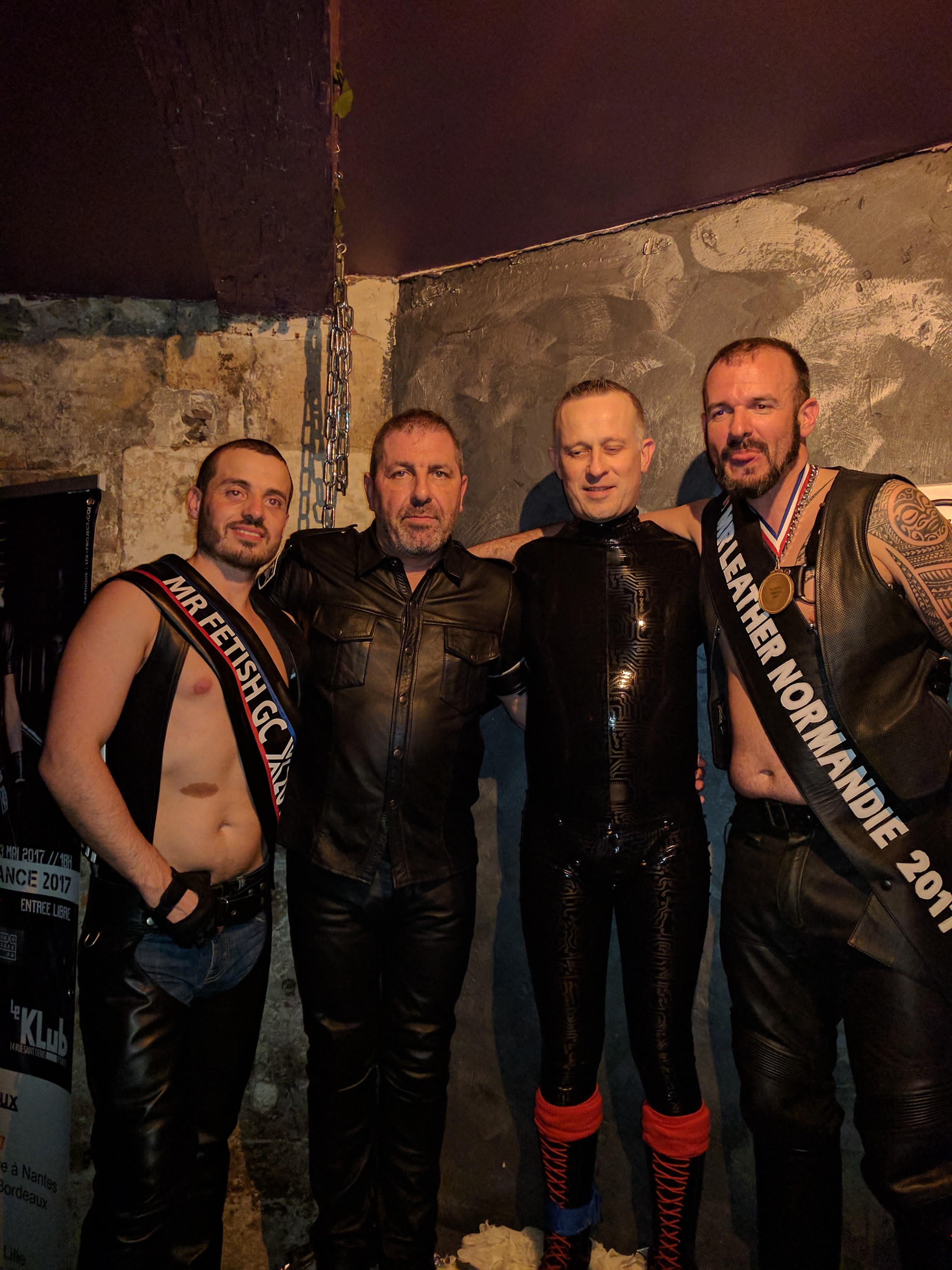 Bar gay en cuir
