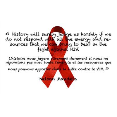 Journée mondiale contre le VIH