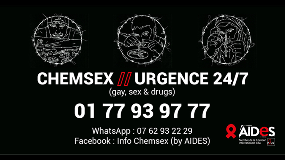 AIDES CHEMSEX