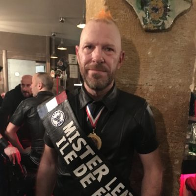 Mr Leather ile de france 2018