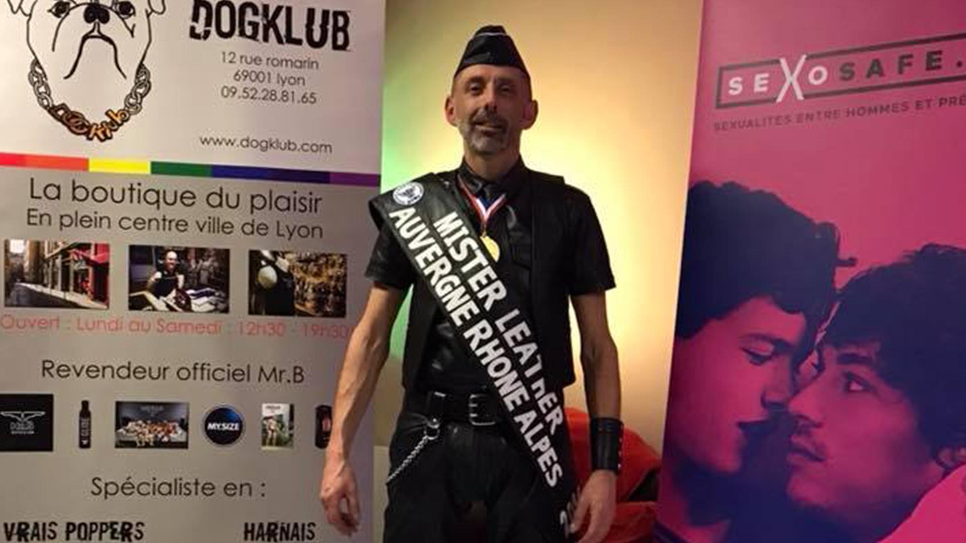 Mr Leather Auvergne Rhône Alpes 2018
