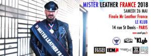 Mister Leather France 2018